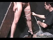 Dirty slut Talia gets tied in bondage