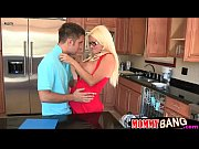 Rikki Six threesome session with stepmom Nikita Von James