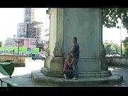 Blasstueck - Berlin Siegessaeule Public und fast erwischt
