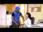 office sex tape with slut worker busty girl vid-21
