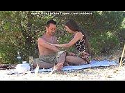 amateur oral sex on a romantic picnic scene 2