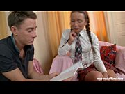 .sexy schoolgirl zufia gives head and.