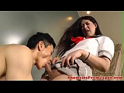 Bigbooty asian tranny schoolgirl gets banged