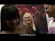 ebony chick drowned in cum 17