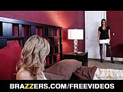 HOT blonde MILF is caught &amp_ fucked in shower by her GF