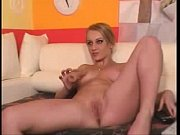 Slut Blonde with Dildo   - combocams.com