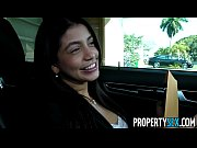 PropertySex - Squirting real estate agent cheers up her client with amazing sex