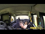 fake taxi horny hot student desires drivers big.