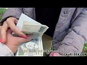 Czech babe smashed by pervert stranger for some money