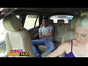 female fake taxi big tits blonde cabbie milf.