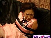 rina aihara tied is aroused on.
