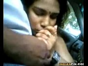 indian chick giving a blowjob in.