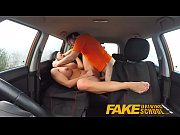 fake driving school pov shots students pussy swallows.