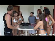 Hardcore orgy movie of young people playing Sex Roulette