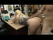 big ass blonde nina kay pawns a gun.