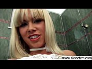 alone hot girl play with sex toys dildos video-06