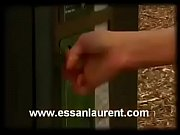 Bursting To Pee, Sexy Girl Can'_t Use The Public Toilet Which Is Out of Order