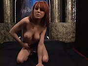 Icy hot babe in sexy lingerie enjoys masturbating solo