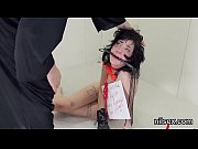 Kinky cutie was taken in butt hole assylum for awkward therapy
