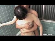 Adulterous Japanese wife fucked in the bathroom