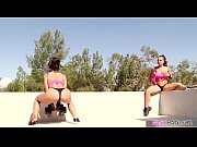 Booty lesbian fitness ladies - Abigail Mac and Kissa Sins