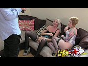 fakeagentuk 2 hot blonde friends lez up then.