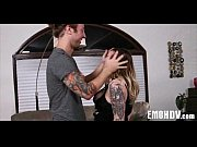Emo slut with tattoos 1250