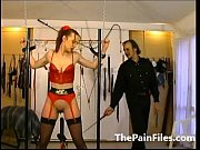 rough whipping and slave sex of tied up.