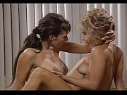two hot lesbians tribbing on a.