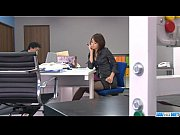 office bimbo, maki hojo, plays with.