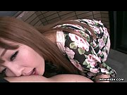 clothed asian teen gets a mouthful from a.