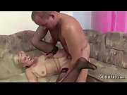 step-son seduce milf mother to fuck.