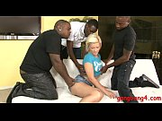 hot blonde babe bibi noel dped by massive.