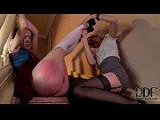 cute schoolgirl amber nevada get spanked.