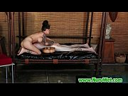busty japanese masseuse gives nuru massage and fucks.