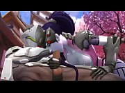 overwatch widowmaker 3d compil