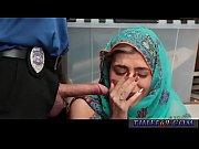 fake cop anal british hijab-wearing arab teen harassed.