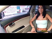 model girl seduced in car with.