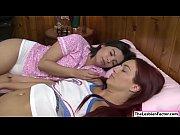 violet scissoring with her hot caregiver
