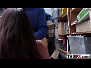 nubile teen thief regretts immediately