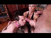 domina helena fucks while her cuckold.
