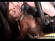 Hot Ebony Babe Dominated by her Master