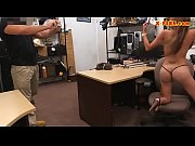 Amateur woman nailed by pervert pawn man at the pawnshop