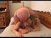 Old boy gets treated nicely by a much younger slut