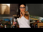 Aline Riscado, a Vem Ver&atilde_o!  - Making Of HD Paparazzo - www.Panicat.org