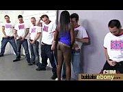 Ebony gets group cumshots 3 Thumbnail