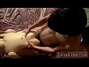horny naked gay lads masturbating a doll to.