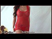 Busty Bikini Webcam Girl Goofs Off