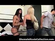 shemales and girls team up to.