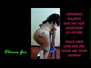 MALE MEN WHO SEE ME, MAKE ME YOUR WOMAN - HOMBRES MACHOS QUE ME VEN, HAGANME SU MUJER